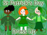 St Patrick's Day Dress Up Game