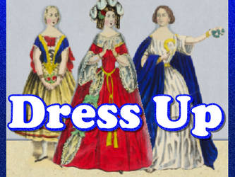 Jenny Lind Paper Doll Dress Up Game by xVanyx