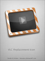 VLC Replacement Icon by Davinness