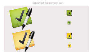 SimpleTask Replacement Icon