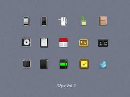 32px Vol. 1 by Davinness