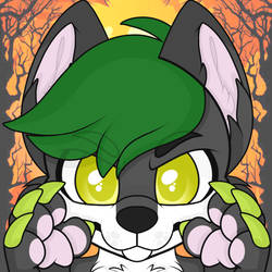 [Animated YCH] ~ * Wolf in the Woods * ~