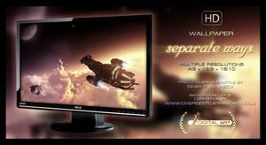 'Separate Ways' WALLPAPER