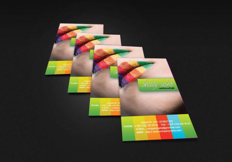 fashion business card by mct2art