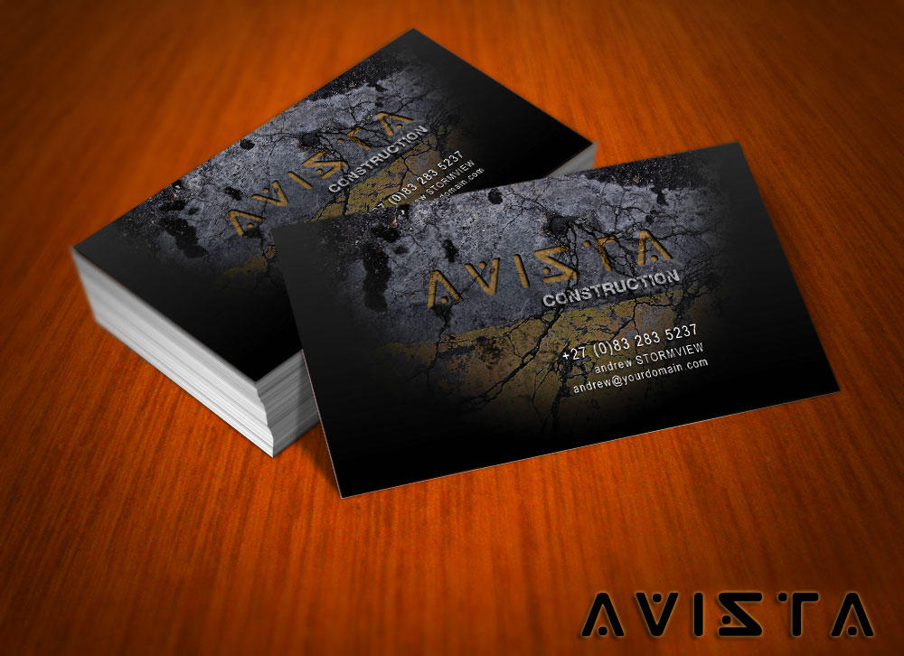 Free Avista Business Card by mct2art on DeviantArt