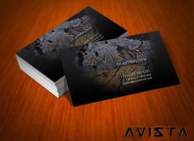 Free Avista Business Card by mct2art
