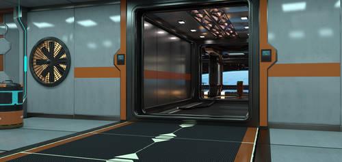 Free Modular sci fi kit by sfman