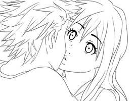 Suprise kiss - animation by Sabinaa