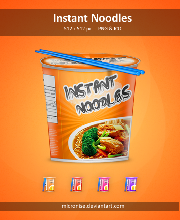 Instant Noodles by micronise