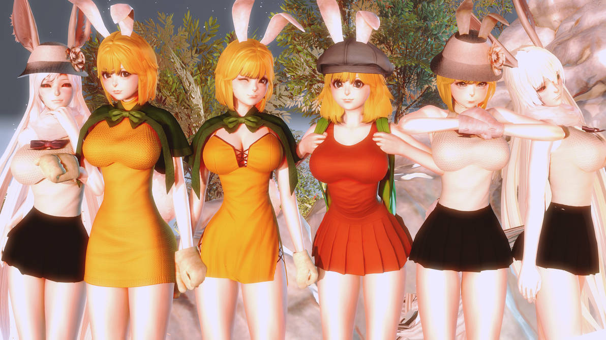 Honey Select: Carrot characters by FelipeMorano82 on DeviantArt
