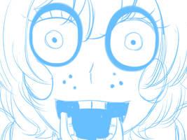 [FNAF2] Toy Bonnie Jumpscare [ANIMATION] by YumeChii-NI