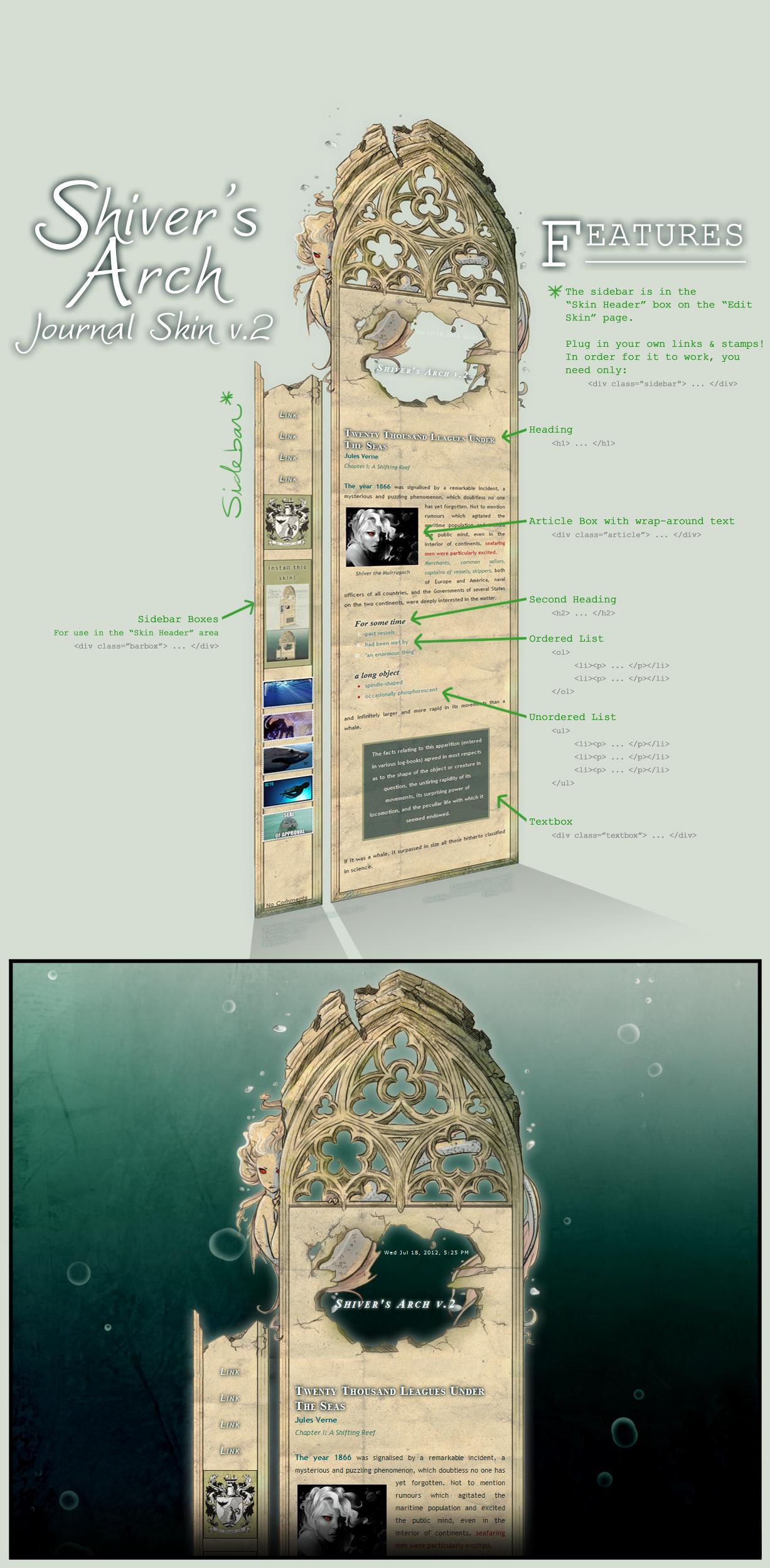 Shiver's Arch v.2 by Pyek