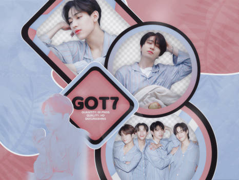 [PACK PNG #084] - GOT7