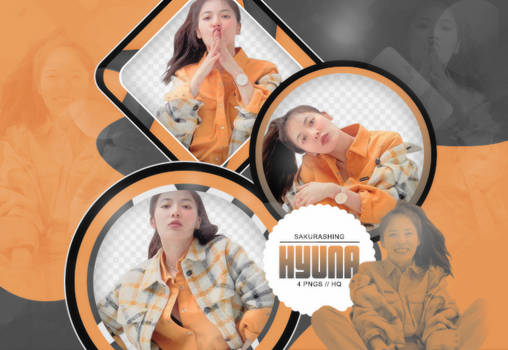 [PACK PNG #098] - HyunA