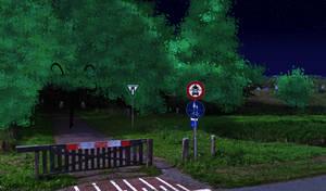 AGK Show: Buldog, Germanys Forest background