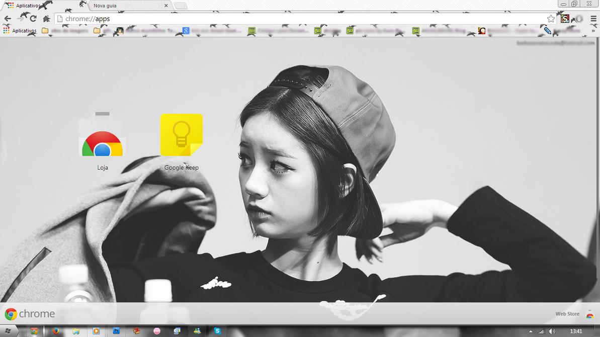Google themes exo chibi - Hyeri Theme Google Chrome By Baekjung