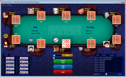 Table Style 01 for PokerTH