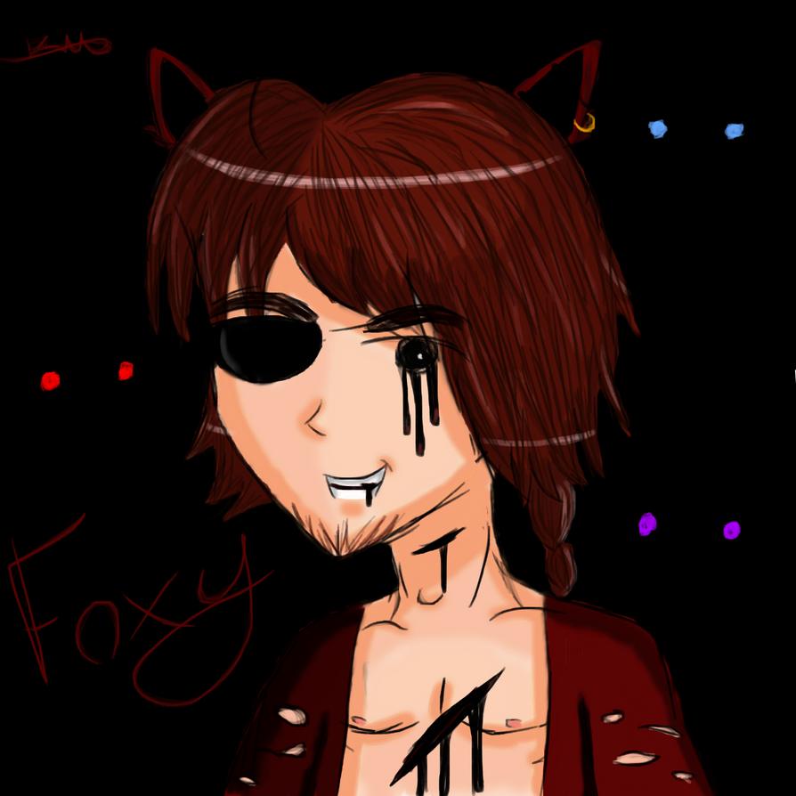 Foxy COLOURED by VideogameKitty99