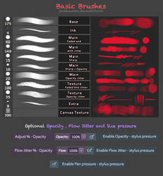 Basic Painting Brushes - Photoshop