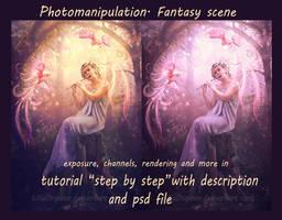 Photomanipulation. Fantasy scene by Incantata