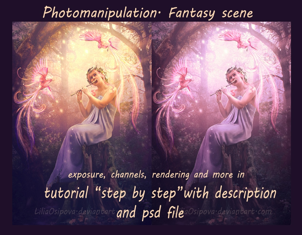 Photomanipulation. Fantasy scene by LiliaOsipova