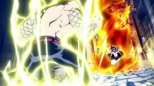 Laxus vs Natsu! by EmoHinata11