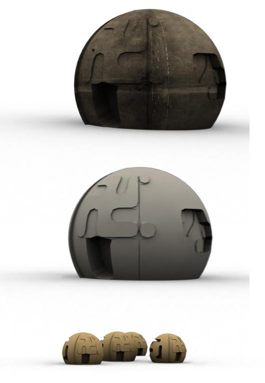 3d-domes by leostarkoneru