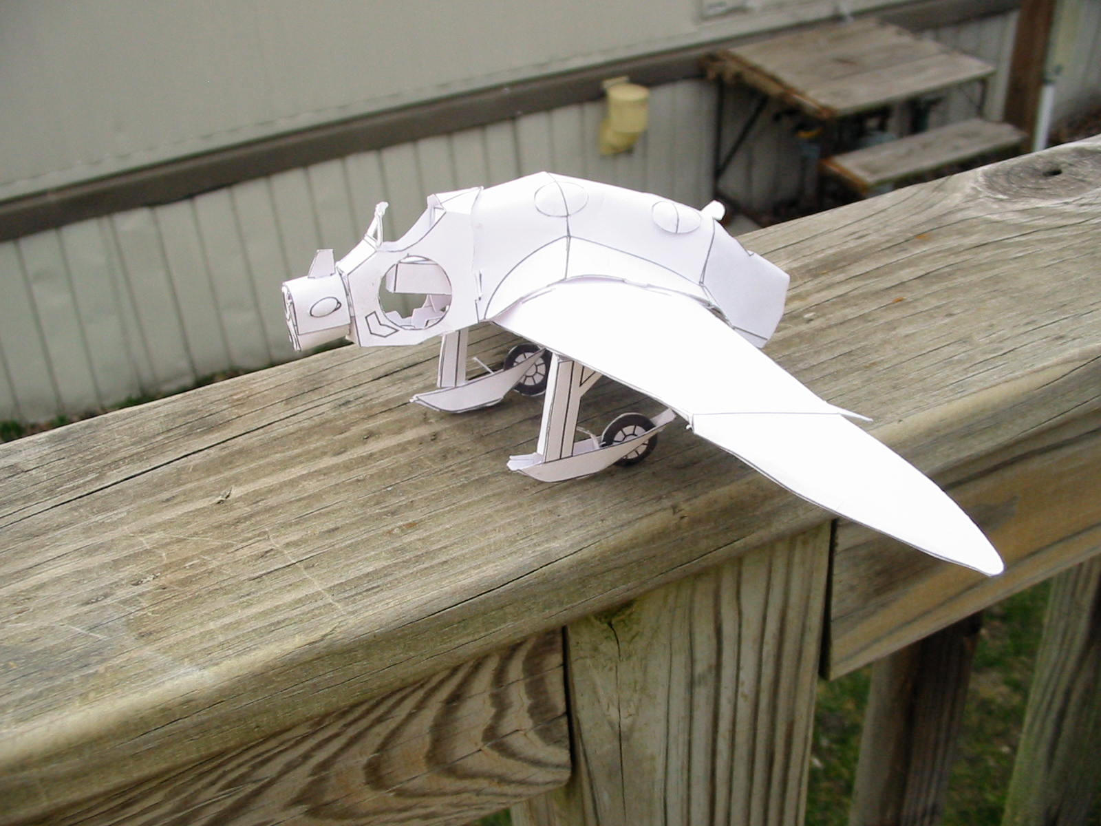 Valley of the Wind Gunship reverse engineered by ARMORMAN