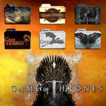 Game of Thrones folder icons: S1-S4