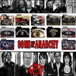 Sons of Anarchy folder icons: S1-S6