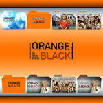 Orange Is The New Black folder icons: S01 and S02