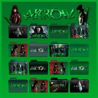 Arrow folder icons: S1- S3 by F0l13aD3ux