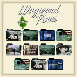 Wayward Pines folder icons by F0l13aD3ux