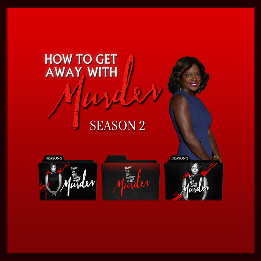 How to get away with murder folder icons s02 by f0l13ad3ux on