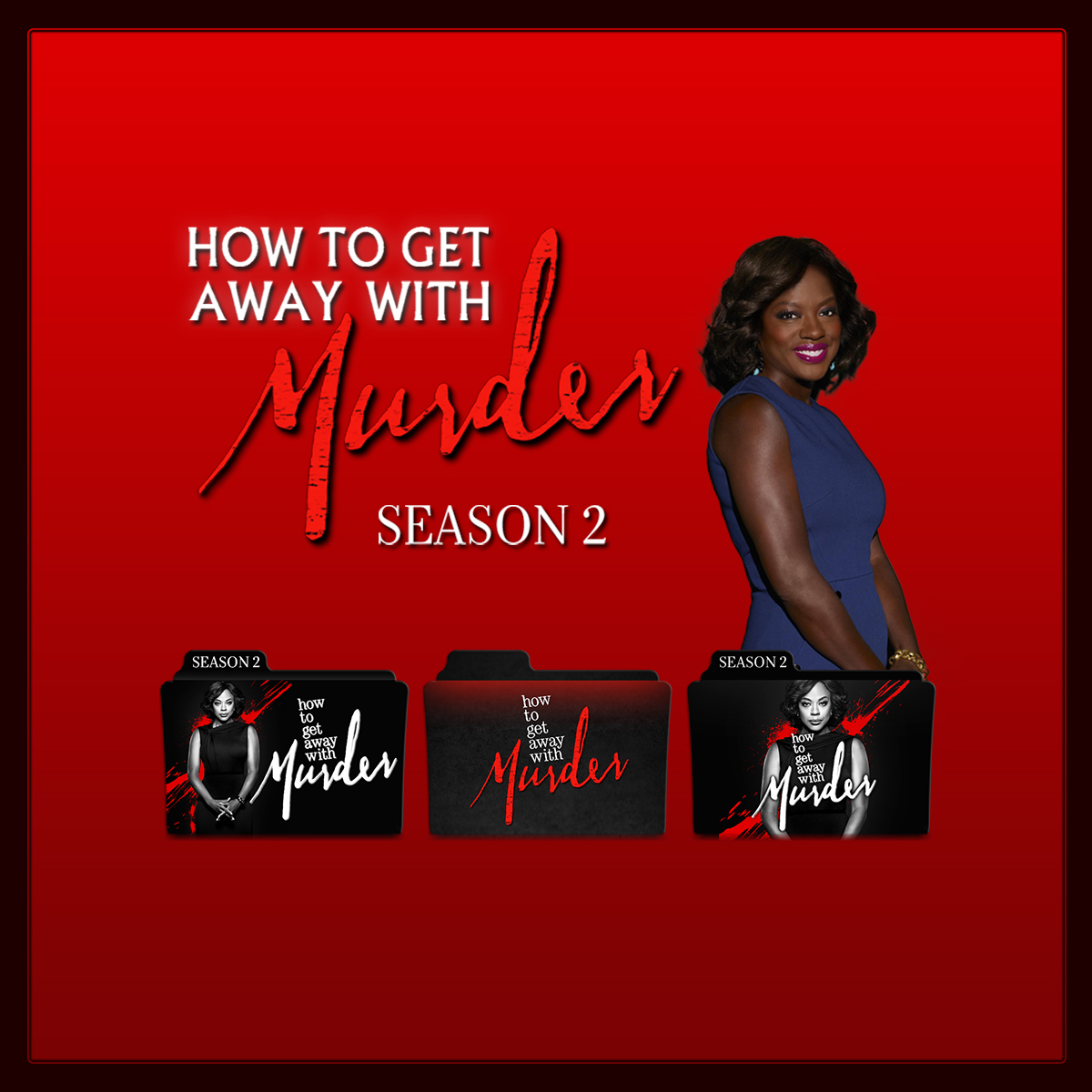 How To Get Away With Murder folder icons: S02 by ... - photo#38
