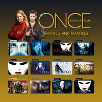 Once Upon a Time folder icons: S04 and S05