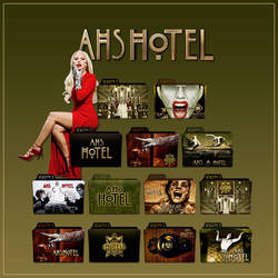 American Horror Story Hotel folder icons