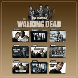The Walking Dead folder icons: Season 6