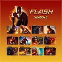 The Flash folder icons: Season 2