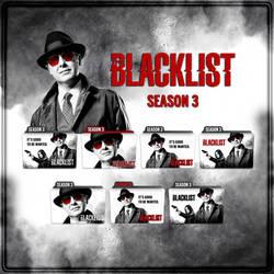 The Blacklist folder icons: Season 3