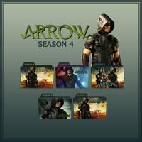Arrow folder icons: Season 4