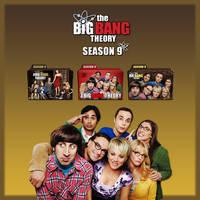 The Big Bang Theory folder icons: Season 9