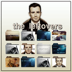 The Leftovers folder icons: Season 1 and Season 2