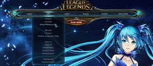 League of Legends Rainmeter dock