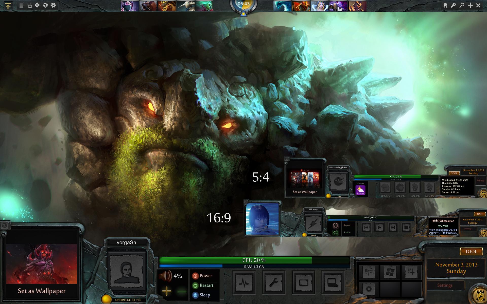 Dota2 Game HUD 1.01 by yorgash