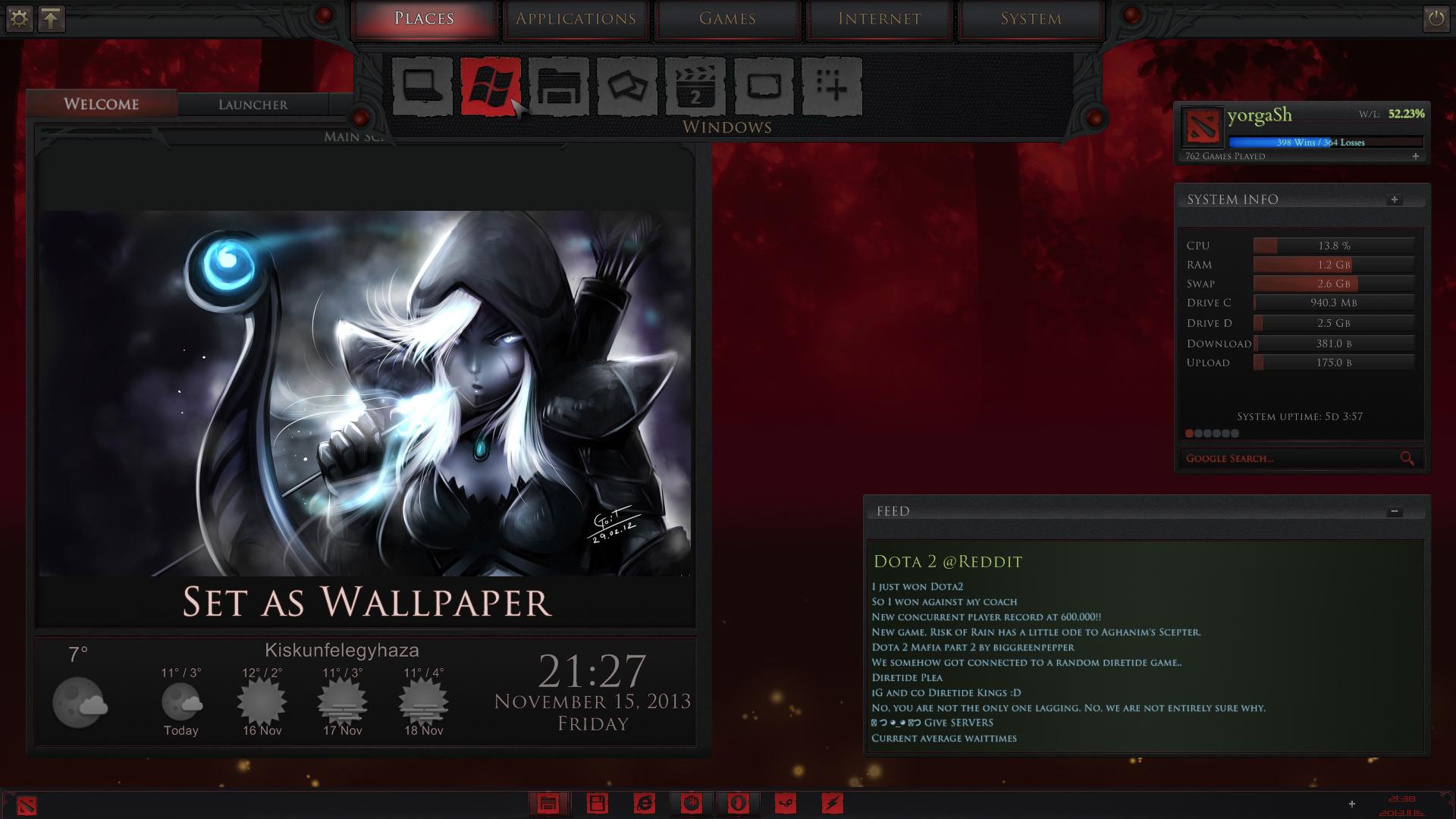 dota2 game menu 2 1 by yorgash on deviantart