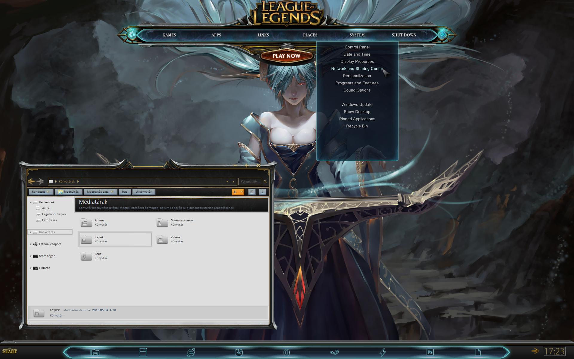 League of Legends Windows - Update! by yorgash