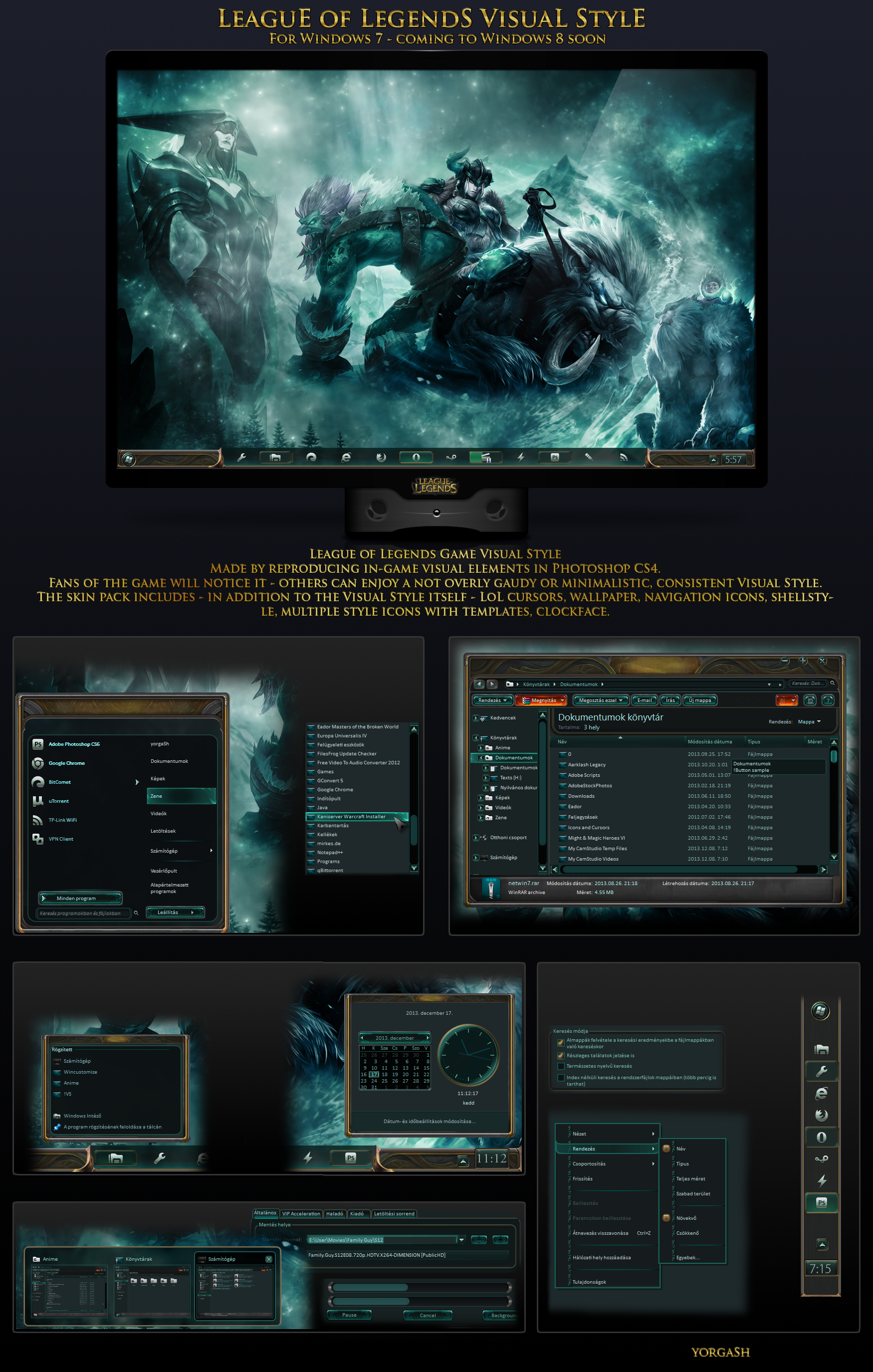 League of Legends Visual Style 7