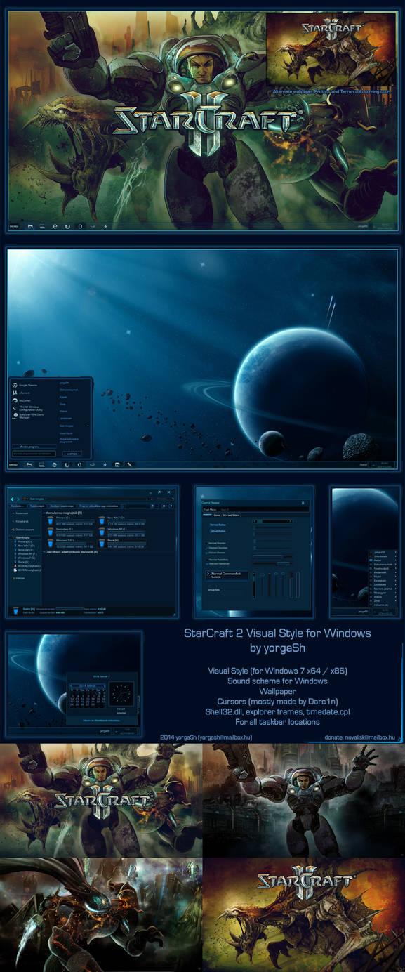Starcraft 2 Windows Theme by yorgash on DeviantArt