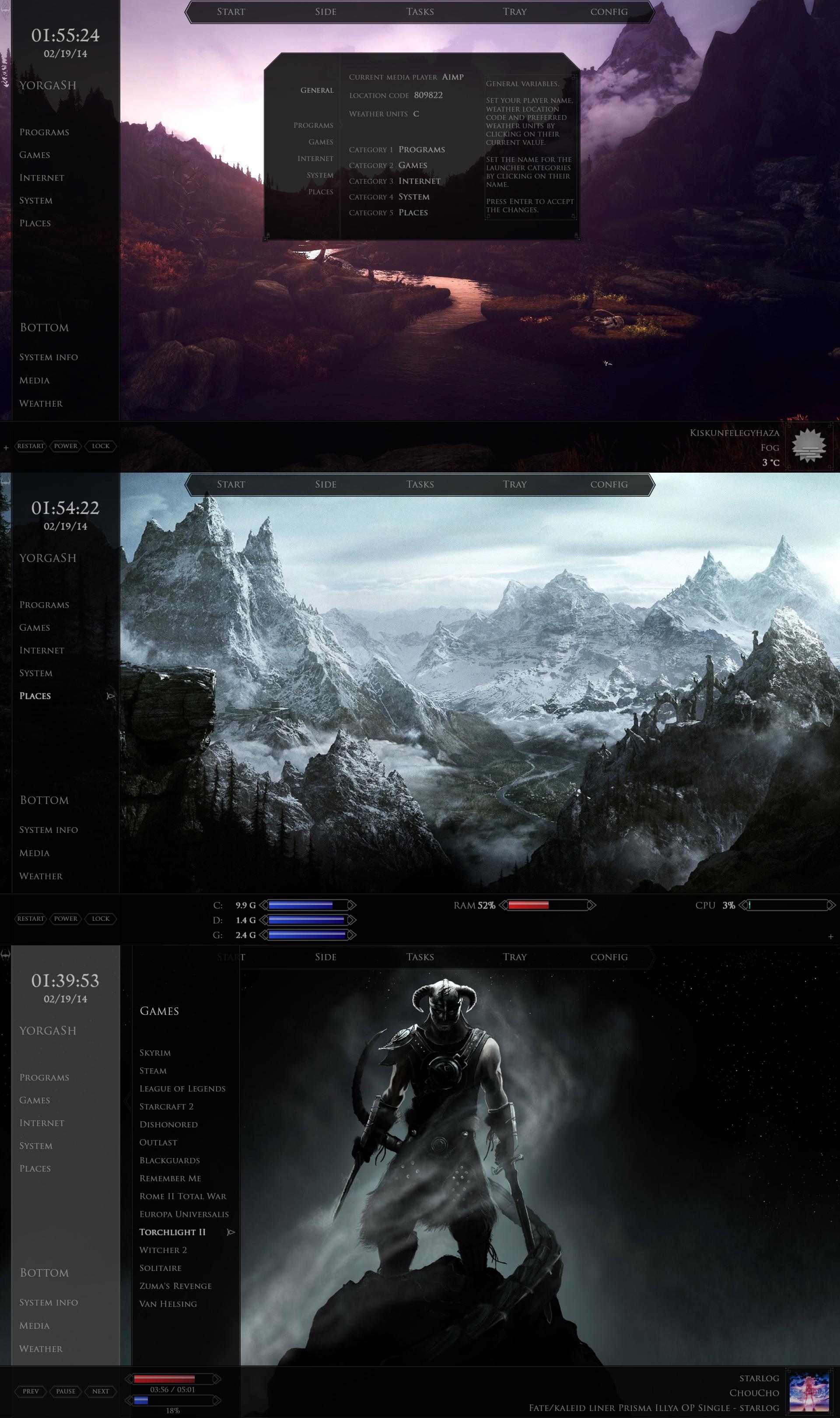 Skyrim Desktop 1.02